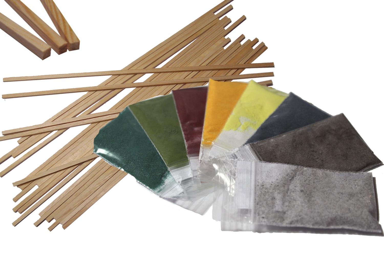 200 Holzstäbchen,Zuckerwattestäbchen,Stäbe für Zuckerwattemaschine,Zuckerwatte